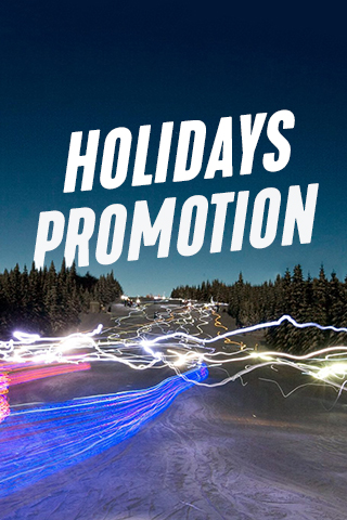 Holidays promotion